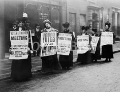 Honoring the feminists who came before me. Thank you, suffragettes!