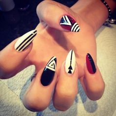 Cool stiletto nails