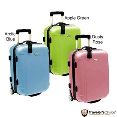 Traveler's Choice Freedom 21-inch Hardside Carry On Upright Suitcase | Overstock.com Shopping - The Best Deals on Carry On Uprights