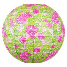lilly pulitzer paper lanterns. $9