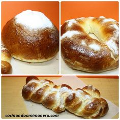 Old Fashioned Sweets, Baking Power, Sin Gluten, Bagel, Doughnut, Bread Recipes, Tapas, Food And Drink, Cookies