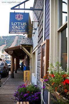 Vegan in JH?  Yes!  Another favorite local restaurant -- Lotus Cafe, Jackson, Wyoming.