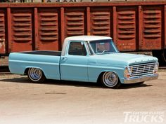 '67 Ford F150 truck.... If only they made extended cabs back then...