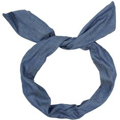 Blue Denim Wire Bow Headband ($3.05) ❤ liked on Polyvore featuring accessories, hair accessories, hair, headbands, bow hairband, head wrap hair accessories, blue headband, blue hair accessories and wire headwrap
