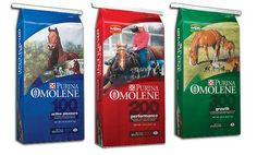 Purina Omolene 100-300 at La Vernia Country Store. #purina #horsefeed