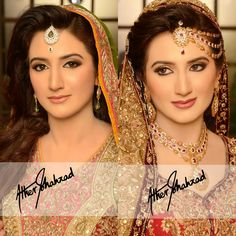 Valima and mehndi bride, makeup and photography by Ather shahzad
