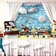 airplane themed party