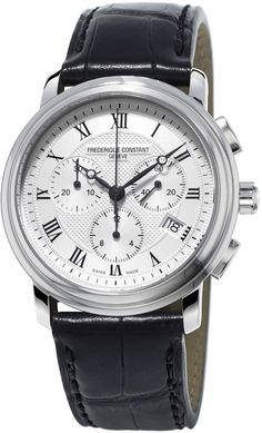 Frederique Constant Gents Classics Chronograph Stainless Watch