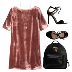 """""""#120"""" by ivaadzic03 ❤ liked on Polyvore featuring Toast, Gianvito Rossi, Versace and Minor Obsessions"""