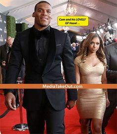 Meet NFL Superstar CAM NEWTON'S Girlfriend . . . She's PRETTY . . . Green Eyes . . . FAT AZZ . . . And SMART . . . But There's ONE PROBLEM WITH HER!! (Fellas Could YOU Wife Her??) - MediaTakeOut.com™ 2014
