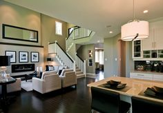 Living Room & Dining Room | Cardel Homes