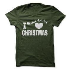 I Love Christmas - #muscle tee #oversized tshirt. MORE INFO => https://www.sunfrog.com/Holidays/I-Love-Christmas-58956479-Guys.html?68278