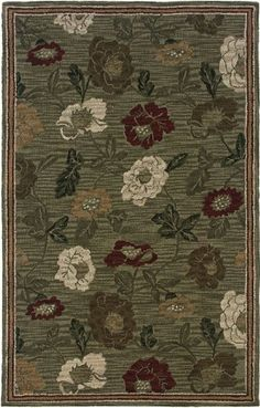 Rizzy Home Hand-tufted Sovereignty Sage (Green) Rug x x Size x (Wool, Oriental) Country Rugs, Country Decor, Where To Buy Carpet, Sage Color, Argos, Rug Store, Carpet Runner, Cool Rugs, Rugs Online