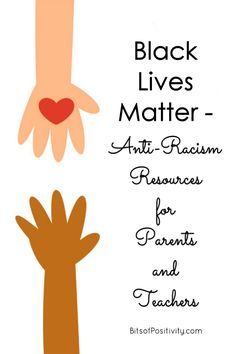 In support of the Black Lives Matter movement, this post contains many anti-racism resources for parents and teachers - Bits of Positivity #BlackLivesMatter #BLM #charactereducation #parenting #resources Peaceful Parenting, Gentle Parenting, Positive Discipline, Kids Discipline, Toddler Chores, Montessori Toddler, Toddler Boys, Matter For Kids, Parenting Books