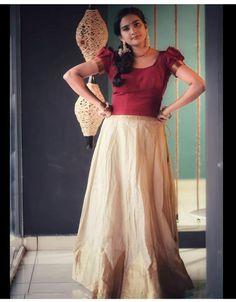 Full Skirt And Top, Actresses, Skirts, Kerala, Beauty, Tops, Models, Women, Fashion