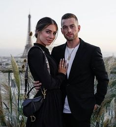 We fell in love in Paris and every time we come I fall in love a little more ❤️🇫🇷 enjoying the most gorgeous dinner with the… Lydia Millen Instagram, We Fall In Love, Falling In Love, First Date Makeup, Lydia Elise Millen, Poses, Casual Bags, Timeless Fashion, Cute Couples