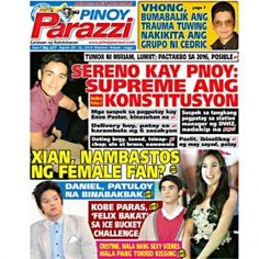 Pinoy Parazzi Vol 7 Issue 107 August 29 - 31, 2014 http://www.pinoyparazzi.com/pinoy-parazzi-vol-7-issue-107-august-29-31-2014/
