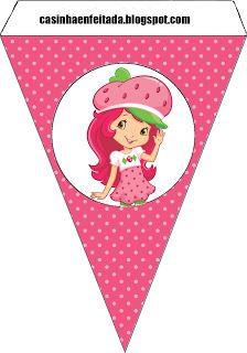 Charming Child: Class Party Kit Strawberry Print For Free