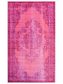 Shop nuLOOM Remade Vintage Vintage-Inspired Overdyed Pink Area Rug at Lowe's Canada. Find our selection of area rugs at the lowest price guaranteed with price match. Turquoise Rug, Couleur Fuchsia, Magenta, Yellow Rug, Rugs Usa, Traditional Rugs, Traditional Design, Accent Rugs, Accent Decor