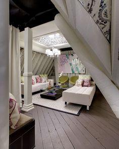 Quaint attic room