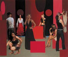 Artodyssey: Tom Alberts Melbourne, Toms, Painted Canvas, Painting, Art Paintings, Oil On Canvas, Canvas Art, Paint, Draw