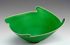 Elsa Rady. green winged bowl