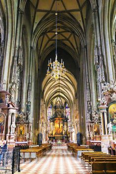 St Stephens Cathedral Vienna -- Alex lived about 5 blocks from here