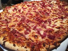 [I ate] Salami Pizza #food #foodporn #recipe #cooking #recipes #foodie #healthy #cook #health #yummy #delicious