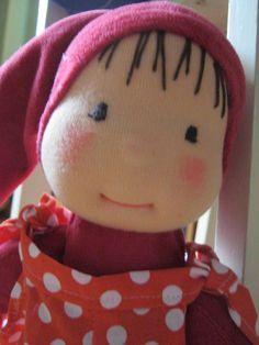 Waldorf Puppe Elfen Puppe Waldorf inspiriert Puppe Puppe von bemka