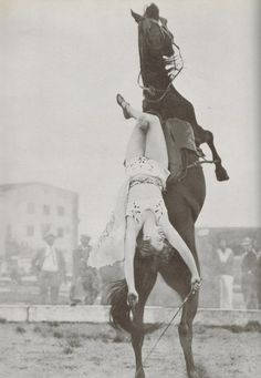 Dorothy Herbert; Photo from The Pictorial History of the American Circus by John and Alice Durant (fifth printing 1967)
