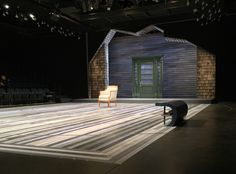 The Other Place. The Alley Theatre. Scenic design by Michael Schweikardt. 2015