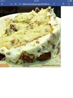 Quick Italian Creme Cake!