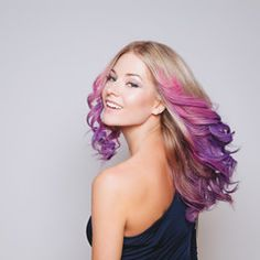 60 Hottest to Try in 2019 – HairstyleCamp two tone hair color ideas for medium length hair - Hair Color Ideas Peekaboo Hair Colors, Hot Hair Colors, Different Hair Colors, Hair Color Dark, Cool Hair Color, Cabello Peekaboo, Hispanic Hair, Pink Ombre Hair, Corte Y Color
