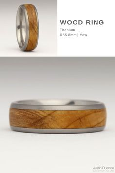 This titanium wood ring is slightly wider than the average at 8mm, but is still unobtrusive and comfortable to wear whilst being wide enough to show a good section of the grain in the wood. Titanium is the strongest metal we use as it's even harder than platinum, so it's a good choice if you're often involved with manual labour. We also recommend choosing this metal if you have sensitive skin. #woodring #titaniumwoodring #woodinlayring #madeincornwall Wood Inlay Rings, Wood Rings, Contemporary Jewellery, Precious Metals, Sensitive Skin, Manual, Wedding Rings, Engagement Rings, Jewelry
