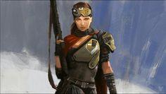 Lani Seera, a Cursian bounty hunter