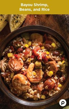 Believe it or not, the Bayou Shrimp, Beans, and Rice is an easy Publix Aprons recipe. Don't let those Bourbon Street chefs fool you. It only takes some Cajun-marinated shrimp, chicken sausage links, diced tomatoes, red beans, and a Louisiana accent to put this meal up against anything the French Quarter can dish out.