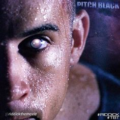 "Vin Deisel as Richard B. Riddick from the Movie ""Chronicles of Riddick:Pitch Black""."