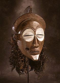 Mask, 20th century, Africa, Democratic Republic of the Congo, Mbagani peoples, ritual/ceremonial