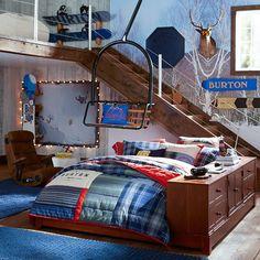 Burton Snowboard Shelf