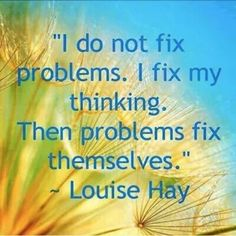 I'm a fan of Louise Hay, and she nailed it with this statement. People can take years searching for complicated ways to solve problems. When it can be as simple as changing the way you think and look at things. Many times the simplest things are over look Louise Hay Affirmations, Affirmations Positives, Daily Affirmations, Motivacional Quotes, Life Quotes, Famous Quotes, Success Quotes, Coaching Quotes, Drake Quotes
