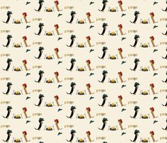 Dachshund Cow Dogs by Sudachan fabric by sudachan on Spoonflower - custom fabric Dachshund Art, Daschund, Custom Purses, Kamut, Novelty Fabric, Weenie Dogs, Print And Cut, Pattern Wallpaper, Custom Fabric