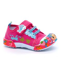 Another great find on #zulily! Fuchsia Abby Sneaker #zulilyfinds