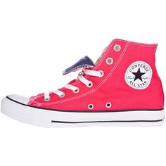 Converse Chuck Taylor Double Tongue Hi-Top Trainers ($76) ❤ liked on Polyvore