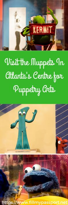 Visit The Muppets at Atlanta's Centre for Puppetry Arts