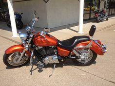 Our motorcycle. Cruiser Bike Accessories, Honda Shadow 1100, Cool Motorcycles, Bike Stuff, Cool Bikes, Chopper, Motorbikes, Breeze, Deadpool