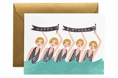 This is a great card for a summer birthday.