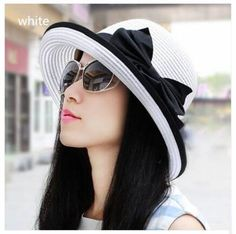 Casual crimping straw sun hat for women UV protection beach summer hats