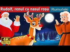 Rudolf renul cu nasul roșu | Povesti pentru copii | Romanian Fairy Tales - YouTube
