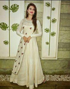 Checkout this hot & latest Kurta Sets Ethnic Designer Kurtis & Kurta Set Fabri Indian Gowns Dresses, Indian Fashion Dresses, Pakistani Dresses, Indian Outfits, Fashion Clothes, Fashion Fashion, Parisian Fashion, Fashion Today, Bohemian Fashion