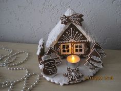 Gingerbread House Designs, Gingerbread Decorations, Christmas Gingerbread House, Gingerbread Cookies, Christmas Cookies, Christmas Decorations, Homemade Christmas, Christmas Diy, Xmas
